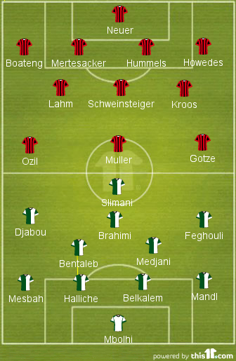 Germany - Alegria lineup