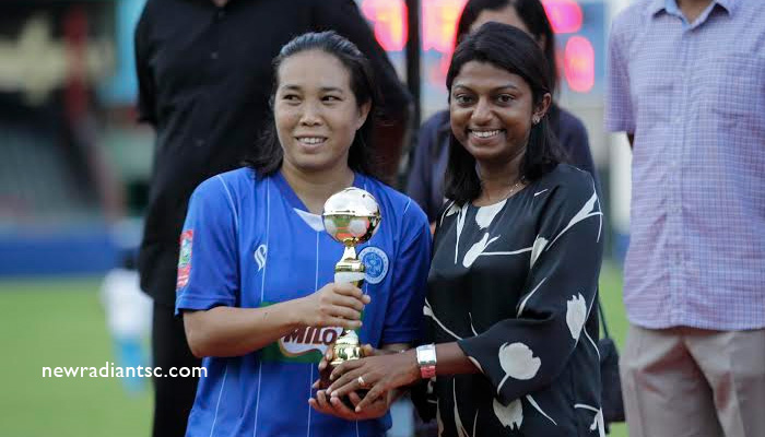 Bembem Devi was adjudged the Player of The Tournament