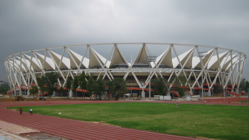 The JLN Stadium which will play home to Delhi Dynamos