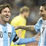 Di Maria is down, but Messi is still going strong