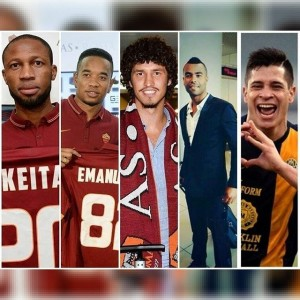 Players who have joined Roma this summer