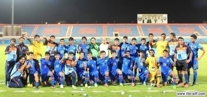 The AIFF U-16 Cadets
