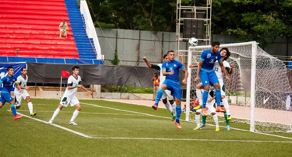 Robin Singh providing the assist for Chhetri in the First Match