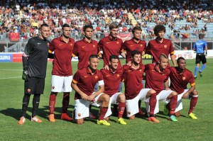 Roma will be looking to knock off Juventus from the top of the table
