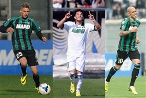 Trident of Berardi-Sansone-Zaza looks exciting
