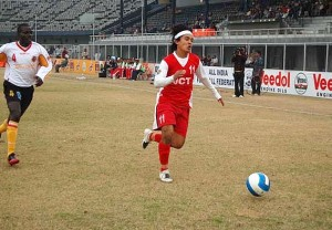 Young Sunil Chettri During His JCT Days.