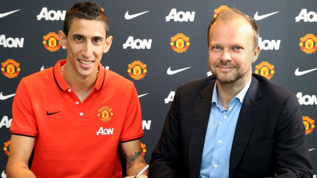 """I'm very grateful to Manchester United for paying what Real were wanting."""