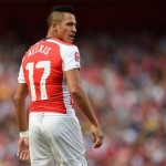 Sanchez's goal was wasted as Arsenal let a one goal lead slip