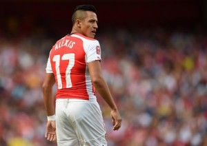 Sanchez scored and assisted a goal in Arsenal's 2-2 home draw against Hull City