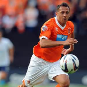 Chopra applying his trade for Blackpool