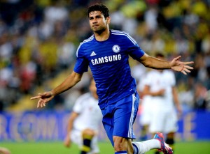 Diego Costa has scored twice for Chelsea in as many games