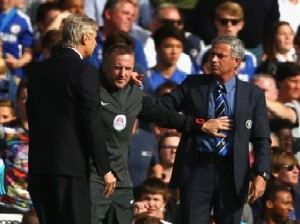 Mourinho and Wenger do not see eye to eye and this match did nothing to improve that