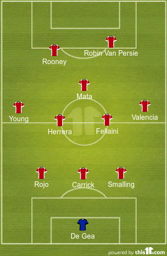 Man United stoke team