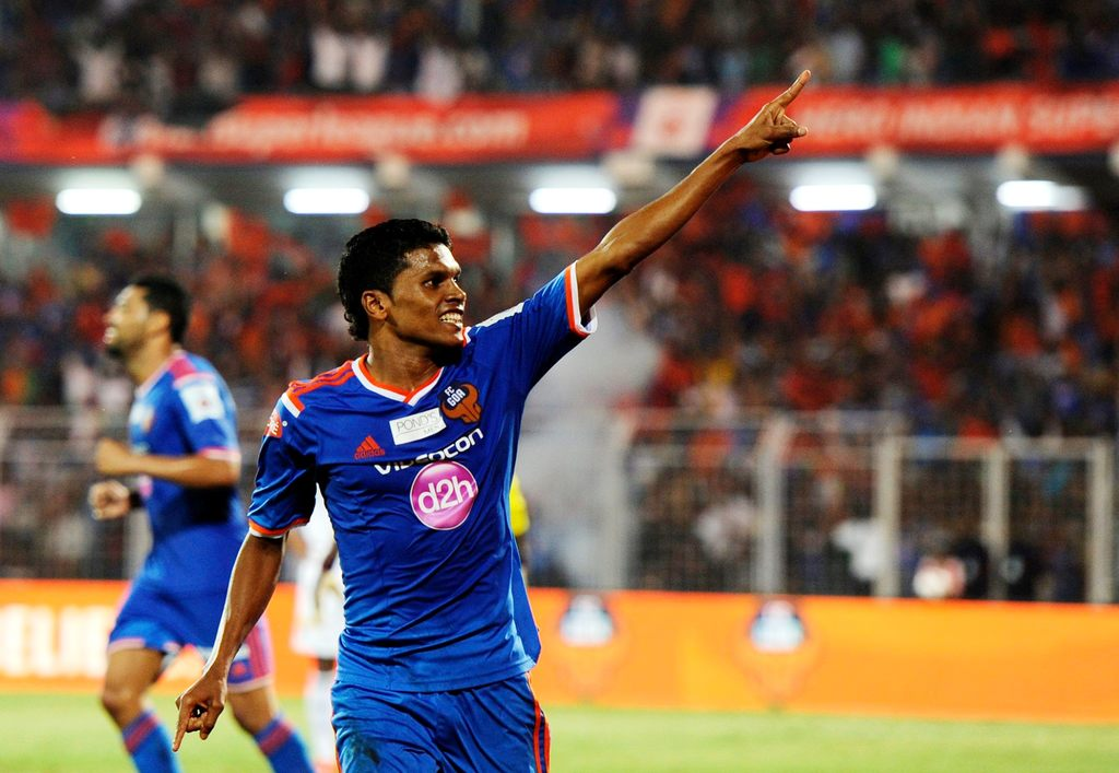 FC Goa's Romeo Fernandes was the Hero of Federation Cup