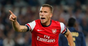 Reports suggest Podolski is very close to joining Inter
