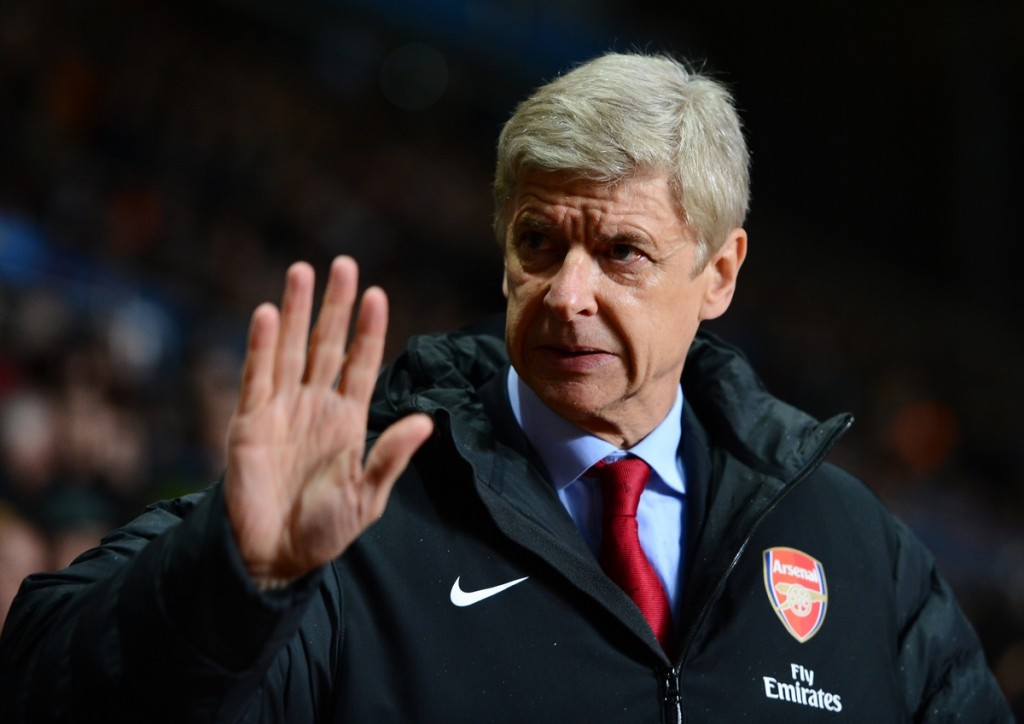 The last pre-season press conference for Wenger at Arsenal? (Photo Credit: AFP/Getty Images)