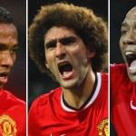 Valencia, Fellaini and Young are three players who have flourished this season under Louis van Gaal