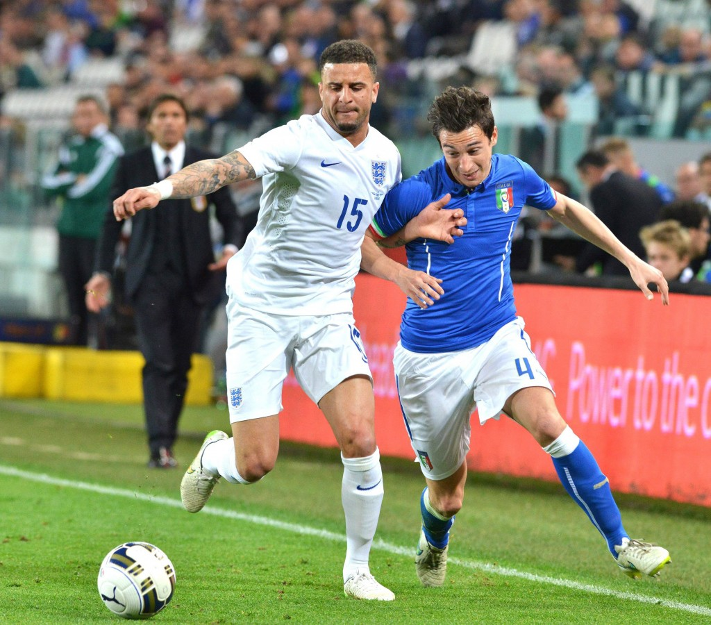 Giving Kyle Walker a night to forget, Darmian proves that his slender physique can handle English Physicality