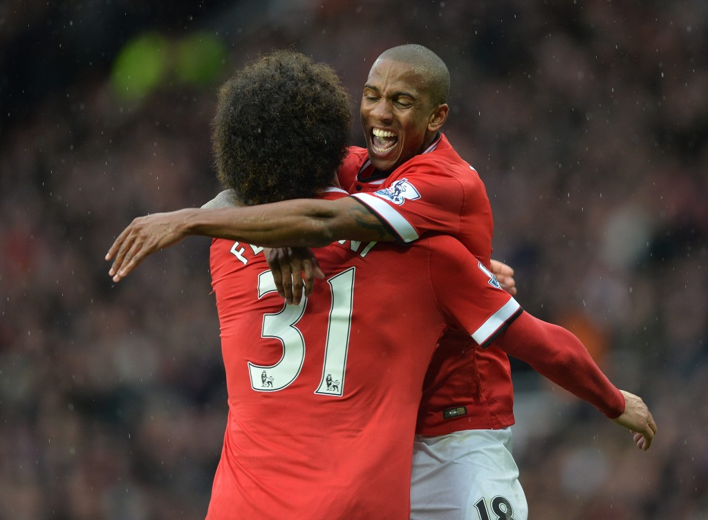 Ashley Young and Marouanne Fellaini have resurrected their United careers