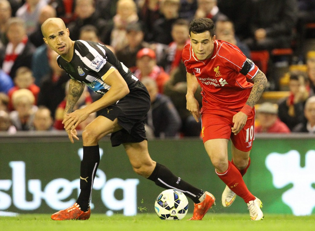 Coutinho played the false nine role to perfection for Liverpool against Newcastle and could be employed in the same position against Aston Villa.