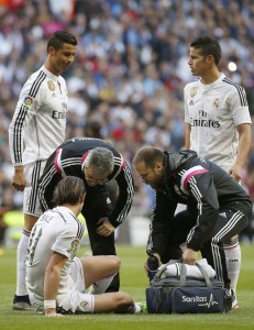 Bale's injury will be a real worry for Ancelotti who is already under pressure