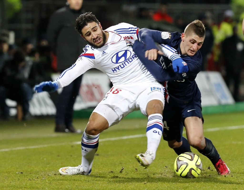 Nabil Fekir's tremendous season with Lyon has resulted in 22-goals in all competitions. (Photo courtesy: AFP/Getty)