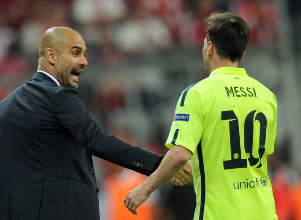 Guardiola and Messi to reunite in England?