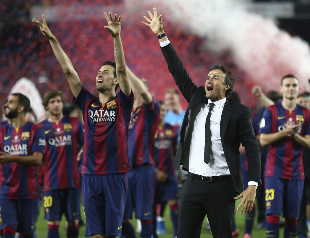 Luis Enrique insisted that titles won with a a patadA?na  were worthless. A patadA?n is an aimless hoof