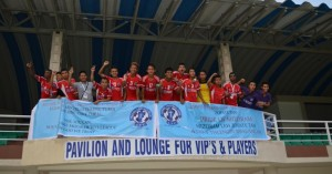 The Victorious Aizwal FC team
