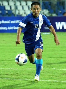Chhetri as always will look to score