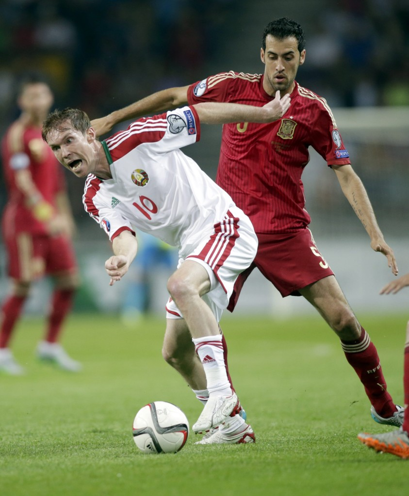 A vital figure in Spain's defence
