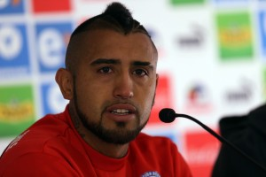 Chilean national soccer team press conference