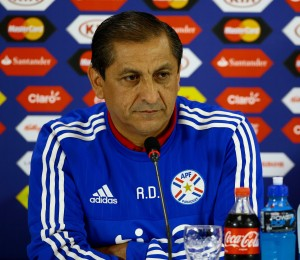 Paraguayan national soccer team press conference