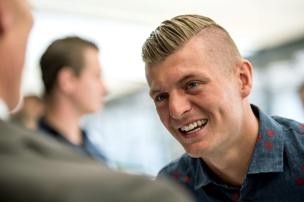 Press Conference with Toni Kroos