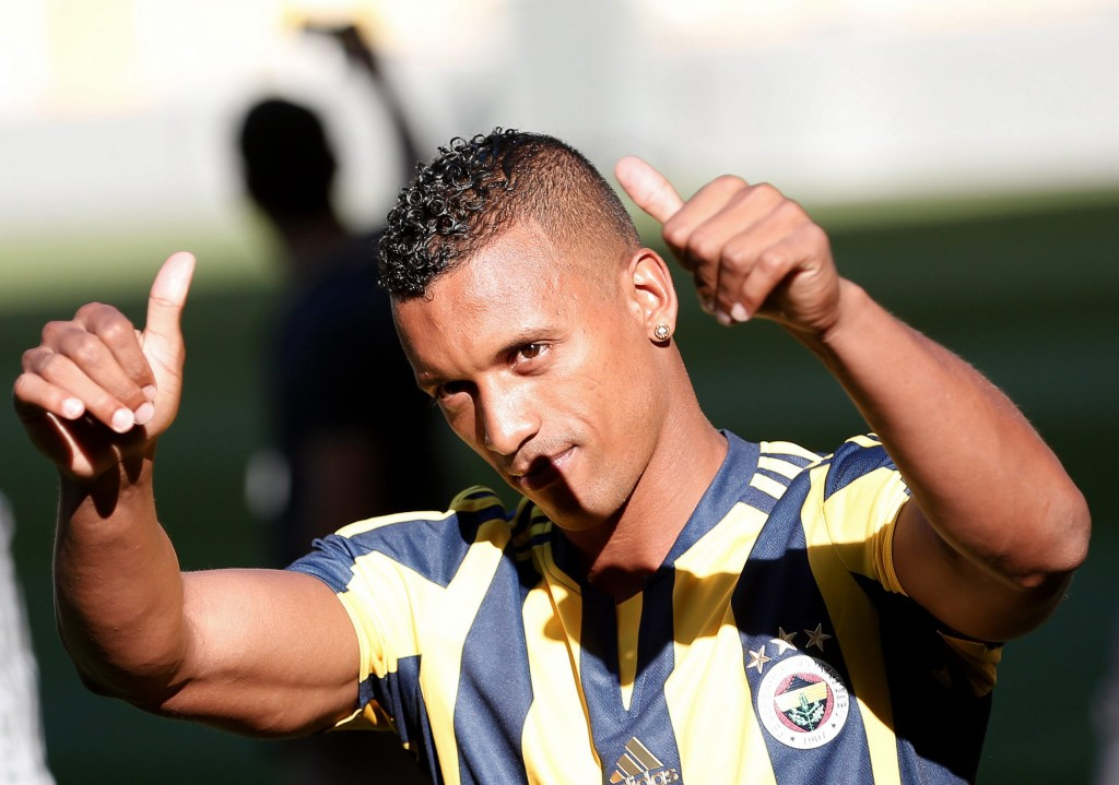 Fenerbahce's new Portuguese forward Nani