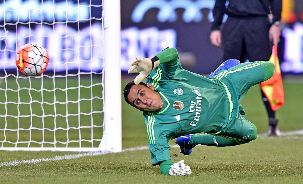 """""""Keylor Navas knows I have complete confidence in him. """""""
