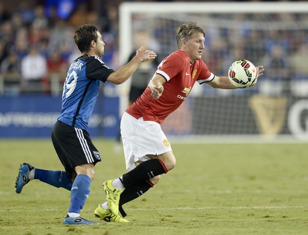 What Schweinsteiger won't provide regularly, will be balanced out by his influence as a leader