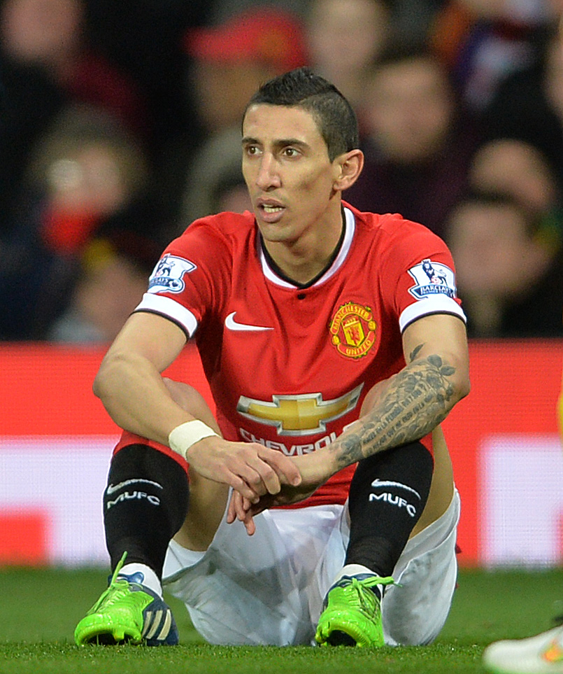 Angel Di Maria: Unsettled at Manchester United