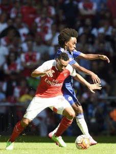 Who will replace Coquelin if the youngster gets injured?