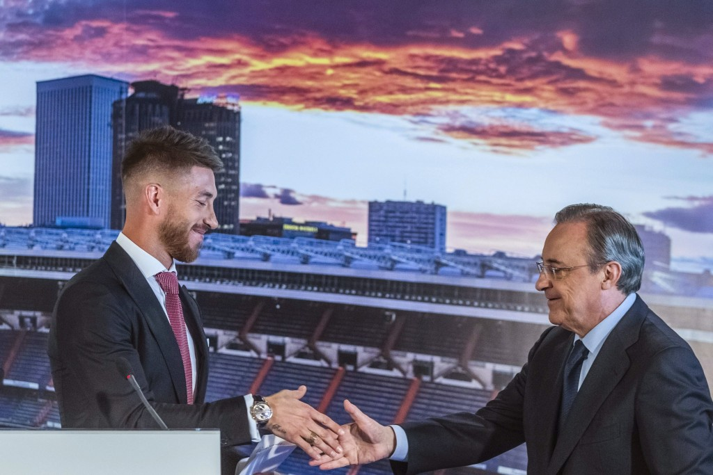 """""""The possibility that Ramos would leave was zero. He never wanted to leave Real and the club knew that Ramos would never leave.a"""