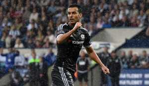 Pedro had an outstanding debut as he was one of the three Spaniards on the scoresheet for Chelsea