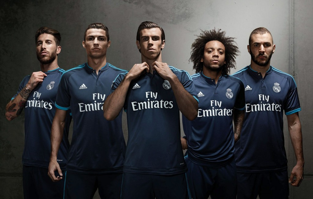 REAL MADRID'S THIRD KIT