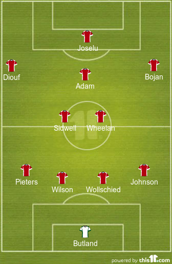 Stoke Line up