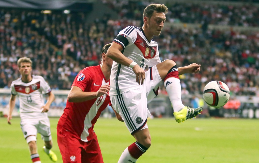 Ozil played the entire 90 minutes in Germany's win over Norway. EPA/FREDRIK VON ERICHSEN