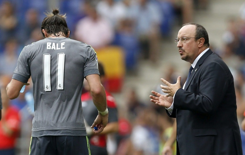 Gareth Bale has suffered a calf injury that is likely to keep him out for the next couple of weeks.