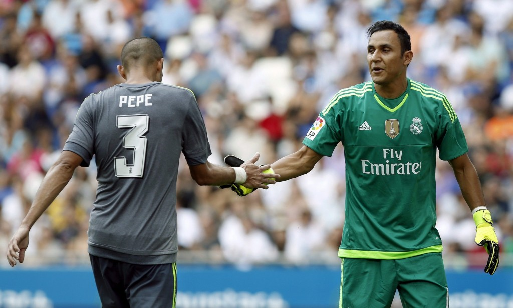 Navas was constantly called into action against Athletic Bilbao who were left frustrated following his heroics.