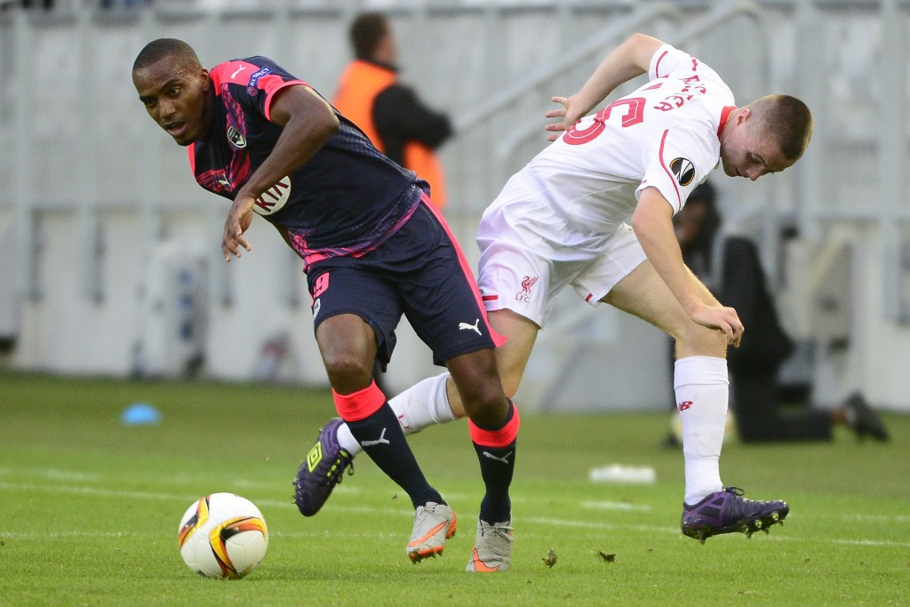 Girondins Bordeaux vs Liverpool