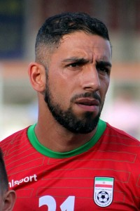 Ashkan Dejagah will look to score against an inexperienced Indian defense