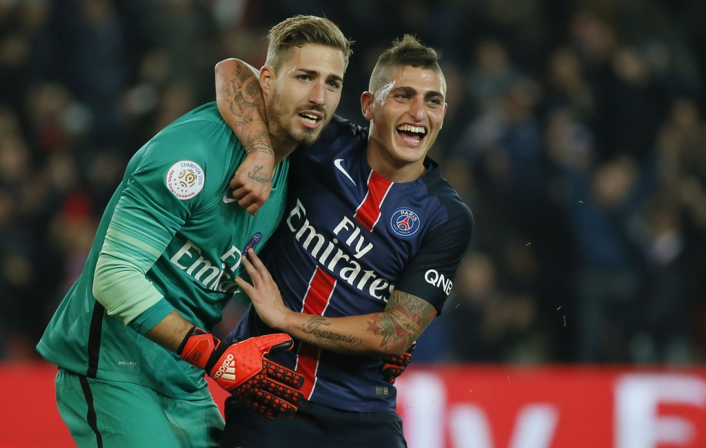 Verratti seems to be satisfied with Paris Saint-Germain and the club reportedly considers the midfielder as key player for the present and the future. (Picture Courtesy - AFP/Getty Images)