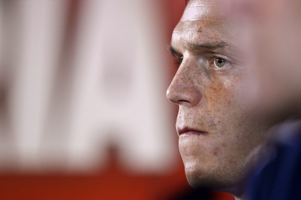 Daniel Agger has high hopes from Liverpool this season. (Photo credits: EPA/HUGO DELGADO)